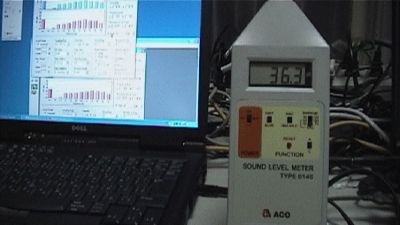 YMEC software - OPERATION OF A SOUND-LEVEL METER 2