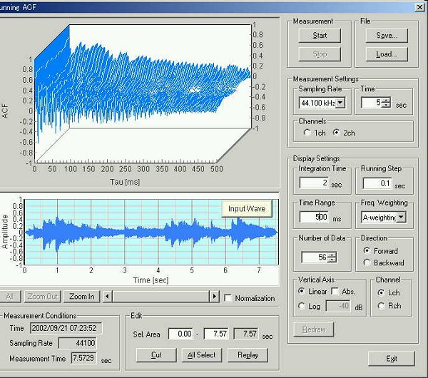 YMEC software - ANALYSIS OF A WAVE FILE - Measurement of piano ...