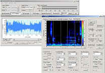 sound recorder and spectrogram